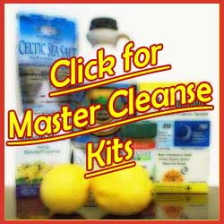 Click for Master Cleanse Kits