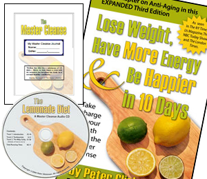 Master Cleanse eBook and Audio Downloads