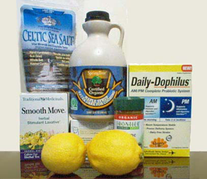 The Master Cleanse Supplies