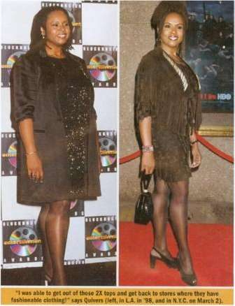 Robin Quivers before and after Master Cleanse